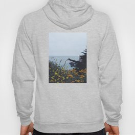 Floral Coast at Dusk Hoody