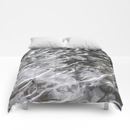 Tongues of fire, bound by ice. Comforters