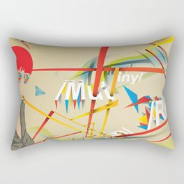 Abstractionist – Mutiny Rectangular Pillow
