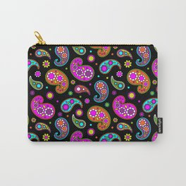 Paisleys and Flowers Carry-All Pouch
