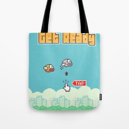 Flappy Bird Tote Bag
