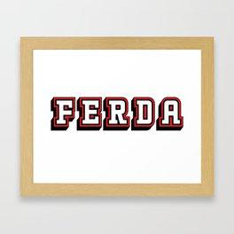 Ferda Framed Art Print