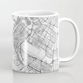 Dubai Map Line Coffee Mug