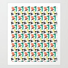Jammin Art Print