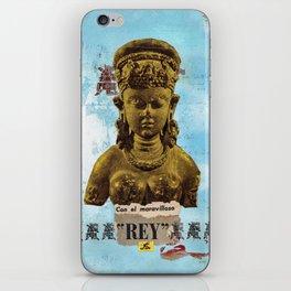 El Maravilloso Rey iPhone Skin