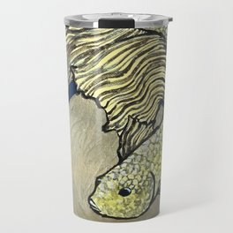 Golden Betta Travel Mug