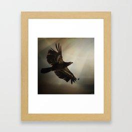 The Light of Daring Framed Art Print