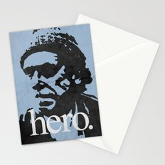 Charles Bukowski - hero. Stationery Cards