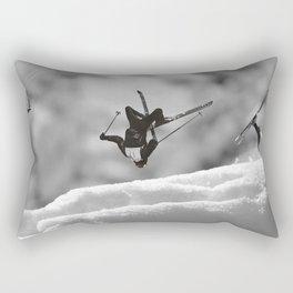 ski jump Rectangular Pillow