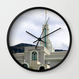 LDS Timpanogos Temple Wall Clock
