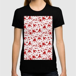 Winter Cats in Hats T-shirt