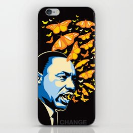 The Voice of Change iPhone Skin