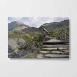 Tryfan in Snowdonia Metal Print