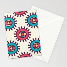 Eye In A Circle Boho Pattern Stationery Cards