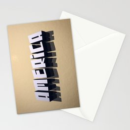 America In 3D Stationery Cards
