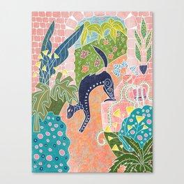 la belette Canvas Print