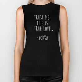 Trust Me - VODKA Biker Tank