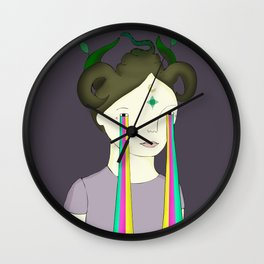 Self Portrait IV Wall Clock