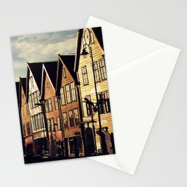 Bergen Harbour Stationery Cards