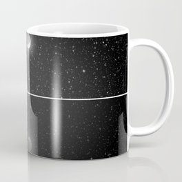 Nessie Starry Night - Loch Ness Monster Coffee Mug