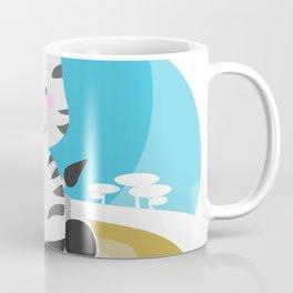 Zebra in the savannah Coffee Mug