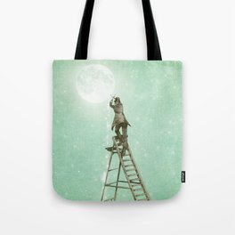 Waning Moon Tote Bag