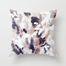 Skylar Abstract Throw Pillow