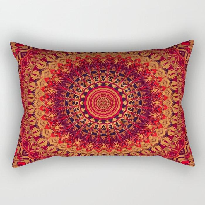 Mandala 261 Rectangular Pillow