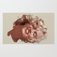 marilyn Area & Throw Rugs featuring marilyn by gazonula