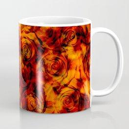Rose Fire Coffee Mug