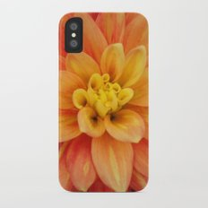 Orange iPhone X Slim Case