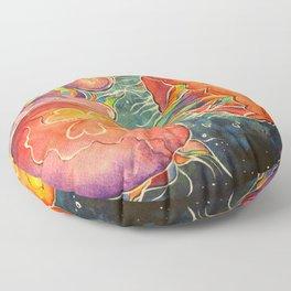 Moon Jellies Floor Pillow