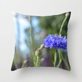 Purple Flowers @ Coastal Botanical Gardens (Maine) Throw Pillow