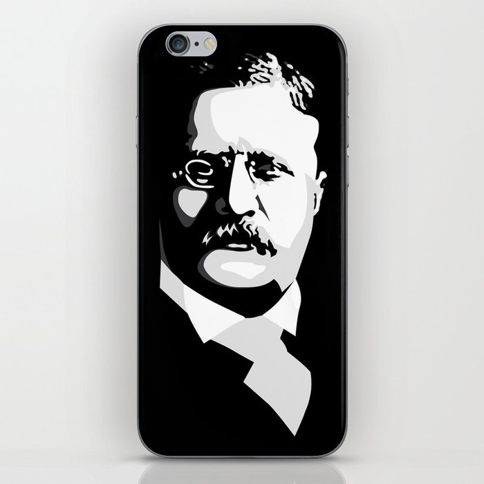 Teddy Roosevelt iPhone Skin