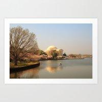 Photo - Thomas Jefferson Memorial v2 Art Print