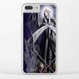 Saint Undertaker (galaxy phone version) Clear iPhone Case