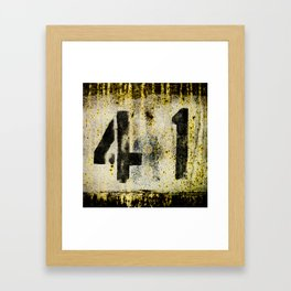 41 texture Framed Art Print