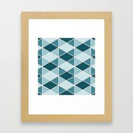 Geometric #1 Framed Art Print