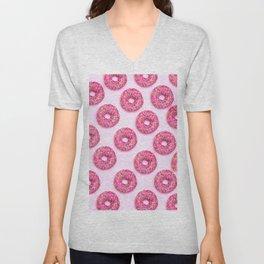 Pink Donuts Unisex V-Neck