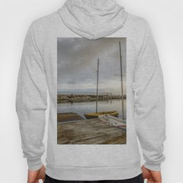 Sunrise on the marina Hoody