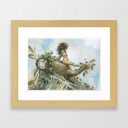 Chai Pixie Framed Art Print