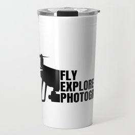 Drone drone pilot flying photo leisure gift Travel Mug