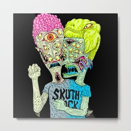 Monster Buddys Metal Print