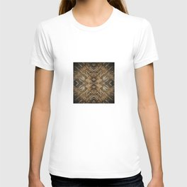 Metal Vintage Letter Abstract T-shirt