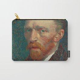 Vincent van Gogh - Self-Portrait, 1887 Carry-All Pouch