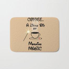Coffee Morning Magic Bath Mat