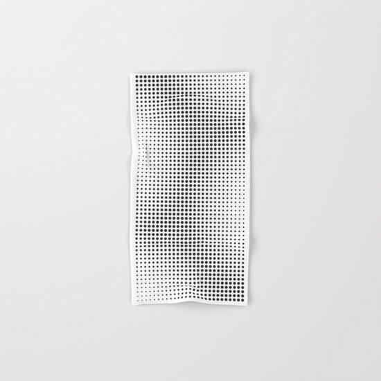 Full Configuration Black Raster - Optical game 13 Hand & Bath Towel