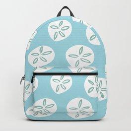 Sand Dollars Sea Urchin in Blue Backpack