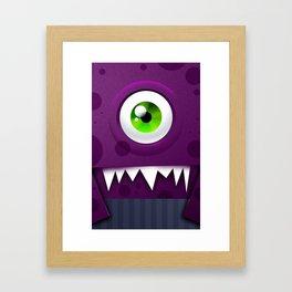 Un Ciclope Framed Art Print