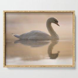 Swan Lake Serving Tray